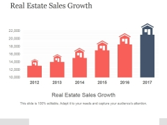 Real Estate Sales Growth Ppt PowerPoint Presentation Good