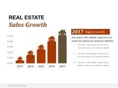 Real Estate Sales Growth Ppt PowerPoint Presentation Styles