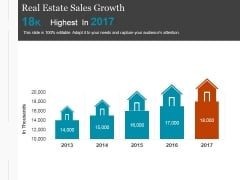 Real Estate Sales Growth Ppt PowerPoint Presentation Themes