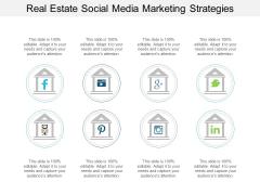Real Estate Social Media Marketing Strategies Ppt PowerPoint Presentation Slides Styles