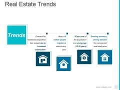Real Estate Trends Ppt PowerPoint Presentation Icon Slide Download