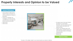 Real Estate Valuation Approaches For Property Shareholders Property Interests And Opinion To Be Valued Industry Mockup PDF