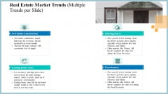 Real Property Strategic Plan Real Estate Market Trends Multiple Trends Per Slide Ppt Professional Microsoft PDF