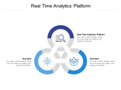 Real Time Analytics Platform Ppt PowerPoint Presentation Infographics Demonstration Cpb