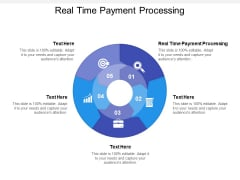 Real Time Payment Processing Ppt PowerPoint Presentation Icon File Formats Cpb
