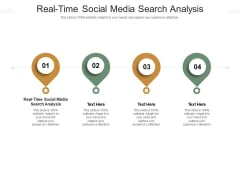 Real Time Social Media Search Analysis Ppt PowerPoint Presentation Ideas Cpb Pdf