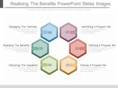 Realizing The Benefits Powerpoint Slides Images