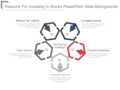 Reasons For Investing In Stocks Powerpoint Slide Backgrounds