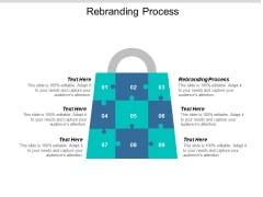 Rebranding Process Ppt PowerPoint Presentation Show Examples Cpb