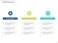 Rebuilding Travel Industry After COVID 19 30 60 90 Days Plan Demonstration PDF