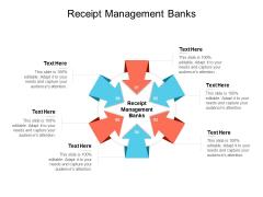 Receipt Management Banks Ppt PowerPoint Presentation Outline Graphics Pictures Cpb