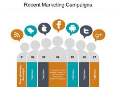 Recent Marketing Campaigns Ppt PowerPoint Presentation Infographics Vector