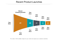 Recent Product Launches Ppt PowerPoint Presentation Professional Graphics Cpb