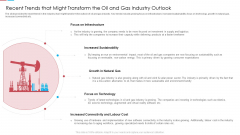 Recent Trends That Might Transform The Oil And Gas Industry Outlook Ppt Infographic Template PDF