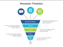 Recession Prediction Ppt PowerPoint Presentation Background Images Cpb Pdf