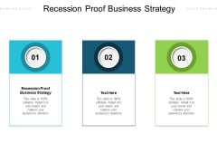 Recession Proof Business Strategy Ppt PowerPoint Presentation Ideas Layouts Cpb Pdf