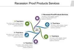 Recession Proof Products Services Ppt PowerPoint Presentation Portfolio Themes Cpb