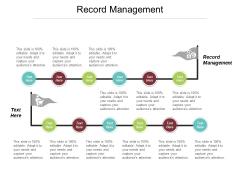 Record Management Ppt PowerPoint Presentation Portfolio Diagrams Cpb