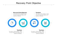 Recovery Point Objective Ppt PowerPoint Presentation Icon Format Cpb