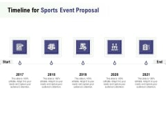 Recreational Program Timeline For Sports Event Proposal Ppt File Background Images PDF