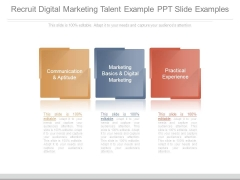 Recruit Digital Marketing Talent Example Ppt Slide Examples
