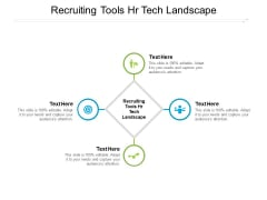Recruiting Tools HR Tech Landscape Ppt PowerPoint Presentation Inspiration Design Inspiration Cpb Pdf