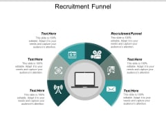 Recruitment Funnel Ppt PowerPoint Presentation Inspiration Display Cpb