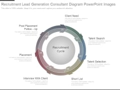 Recruitment Lead Generation Consultant Diagram Powerpoint Images