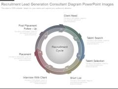 Recruitment Lead Generation Consultant Diagram Powerpoint Images