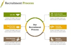 Recruitment Process Ppt PowerPoint Presentation Infographics Graphics