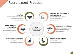 Recruitment Process Ppt PowerPoint Presentation Inspiration Maker
