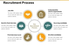 Recruitment Process Ppt PowerPoint Presentation Outline Vector
