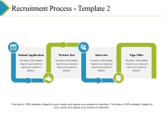 Recruitment Process Template 2 Ppt PowerPoint Presentation Infographic Template Vector