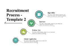 Recruitment Process Template 2 Ppt PowerPoint Presentation Portfolio Rules