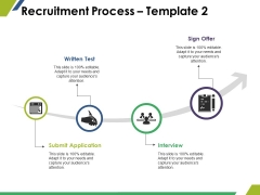 Recruitment Process Template 2 Ppt PowerPoint Presentation Slides Show