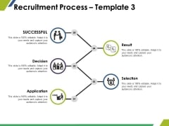 Recruitment Process Template 3 Ppt PowerPoint Presentation Background Image