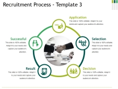 Recruitment Process Template 3 Ppt PowerPoint Presentation Professional Skills