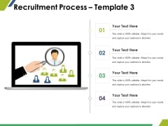 Recruitment Process Template 4 Ppt PowerPoint Presentation File Pictures