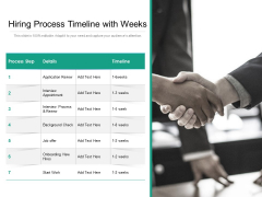 Recruitment Process Timeline With Background Check Ppt PowerPoint Presentation Inspiration Graphics Download PDF
