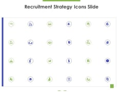 Recruitment Strategy Icons Slide Ppt PowerPoint Presentation Gallery Themes PDF