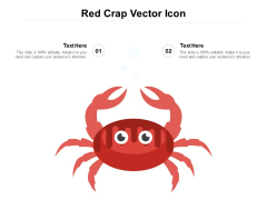 Red Crap Vector Icon Ppt PowerPoint Presentation Slides Example File
