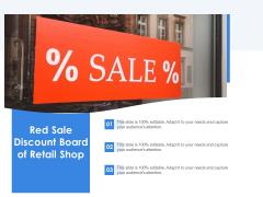 Red Sale Discount Board Of Retail Shop Ppt PowerPoint Presentation File Portfolio PDF