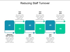 Reducing Staff Turnover Ppt PowerPoint Presentation Styles Icon Cpb