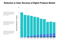 Reduction In Sales Revenue Of Digital Products Market Ppt PowerPoint Presentation Ideas Objects PDF
