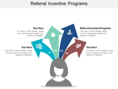 Referral Incentive Programs Ppt PowerPoint Presentation Model Cpb