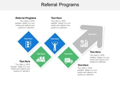 Referral Programs Ppt PowerPoint Presentation Show Display Cpb