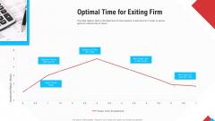 Reform Endgame Optimal Time For Exiting Firm Brochure PDF