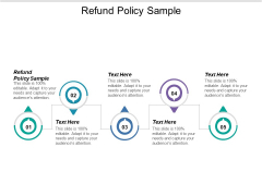 Refund Policy Sample Ppt PowerPoint Presentation Styles Themes Cpb
