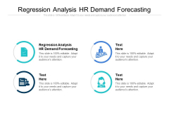 Regression Analysis HR Demand Forecasting Ppt PowerPoint Presentation Infographic Template Themes Cpb