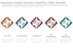 Regression Analysis Illustration Powerpoint Slides Template